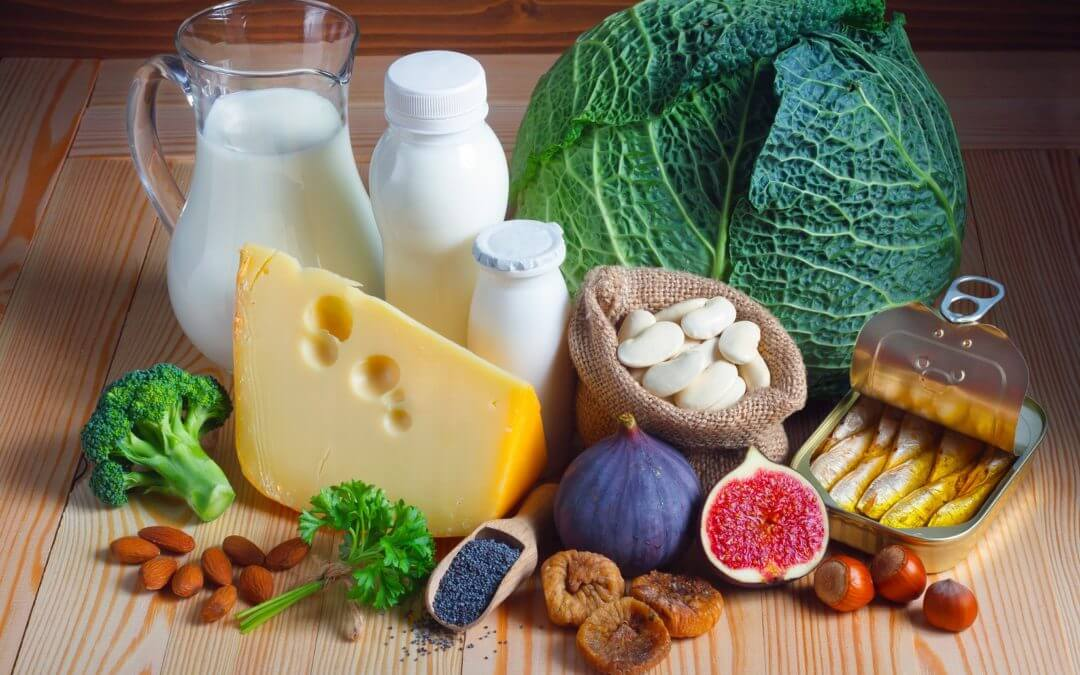 Calcium and Vitamins Intake for healthy teeth