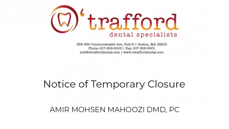 Notice of Temporary Closure